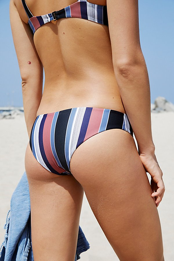 Slide View 2: Ali Striped Bikini Bottom