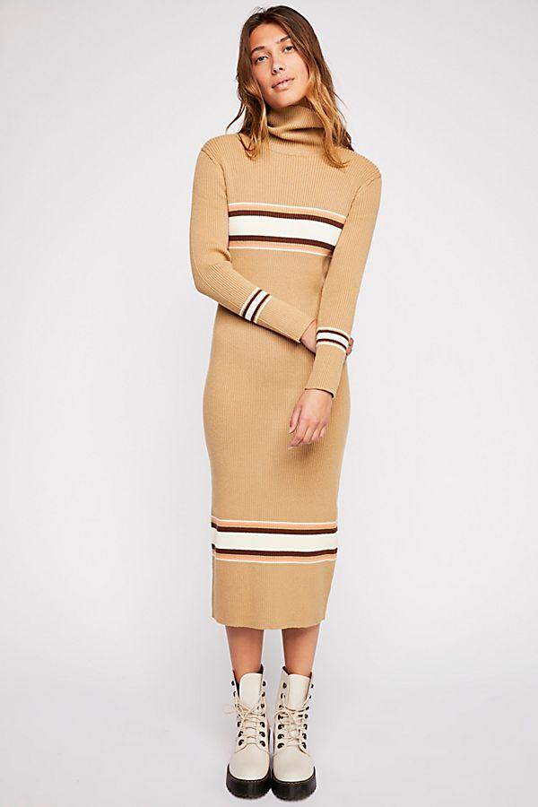 8126caa7b81 Sport Stripe Midi Dress