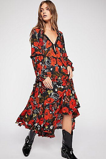 In The Moment Printed Dress