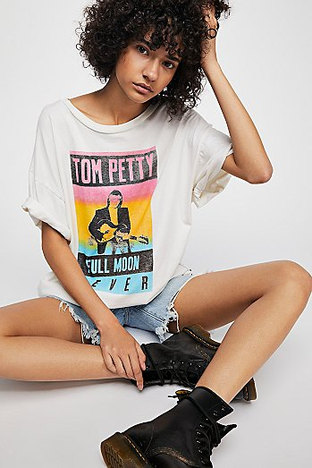 Tom Petty Boyfriend Tee