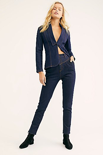 Sugarhigh Lovestoned Denim Suit