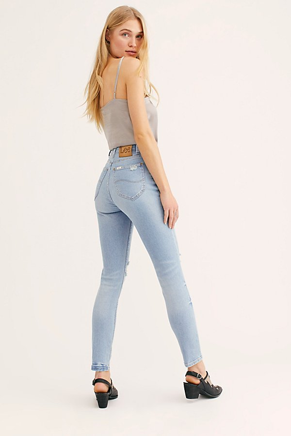 Slide View 2: Lee High-Rise Skinny Jeans