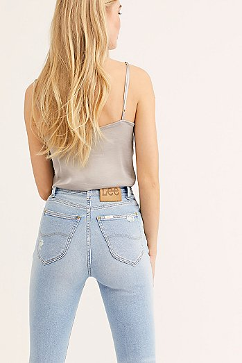 Lee High-Rise Skinny Jeans