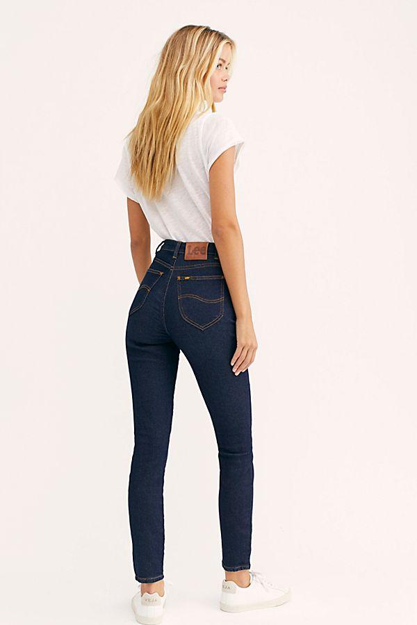 Lee High Rise Skinny Jeans