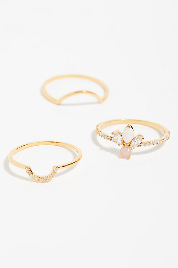 Slide View 1: Tai Delicate Ring Set