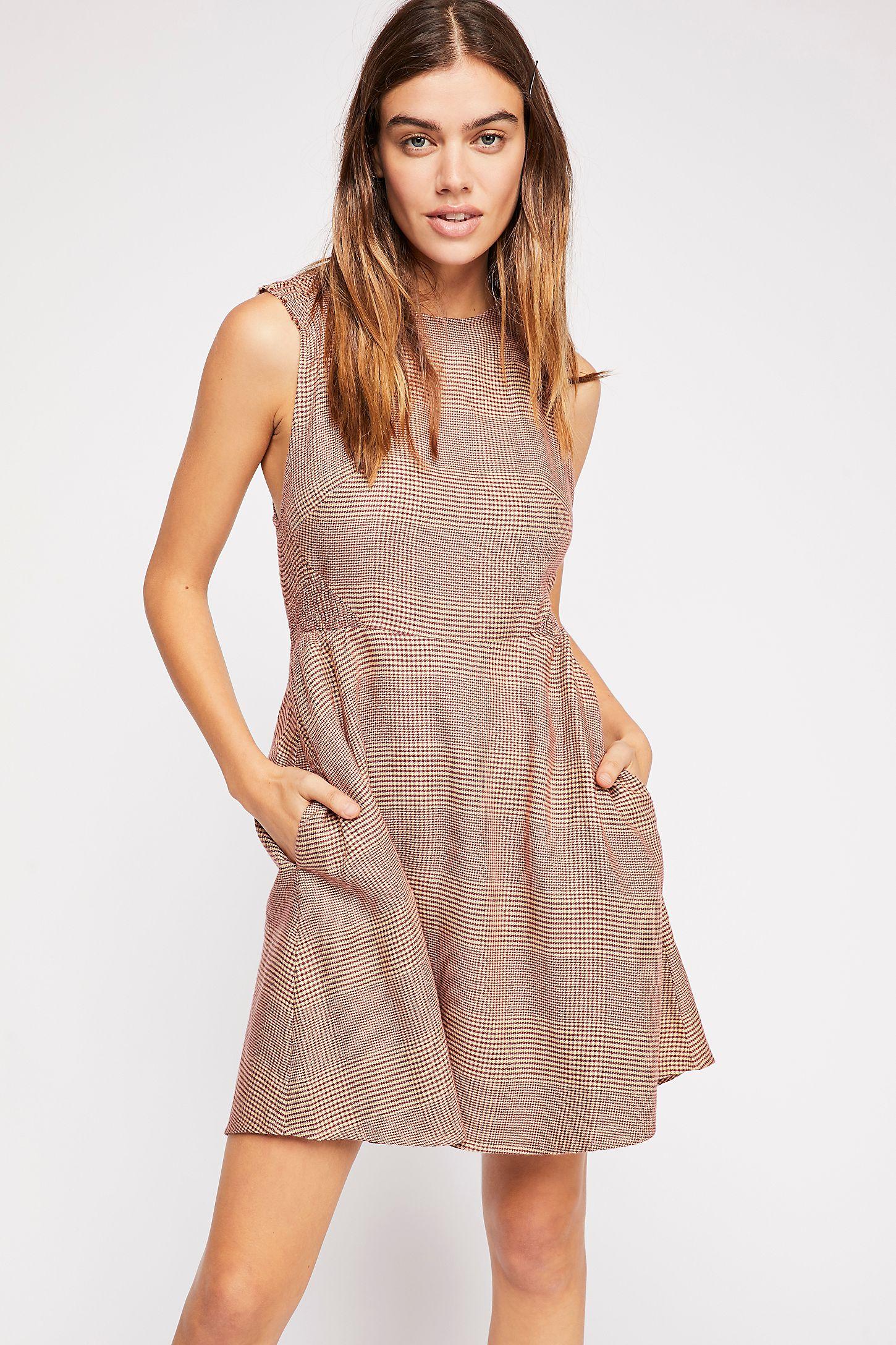Au Revoir Mini Dress Free People