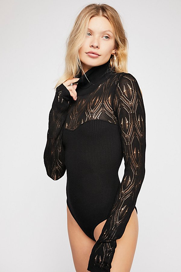 Slide View 2: Pretty In Pointelle Bodysuit