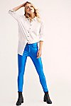 Thumbnail View 1: Neon Blonde Bombshell Metal Jeans
