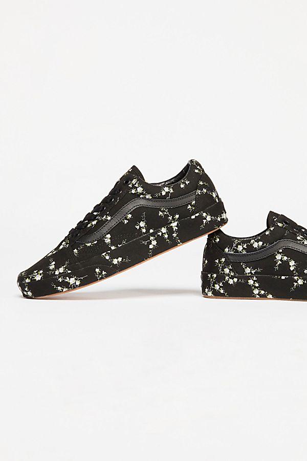 Old Skool Midnight Floral Sneakers