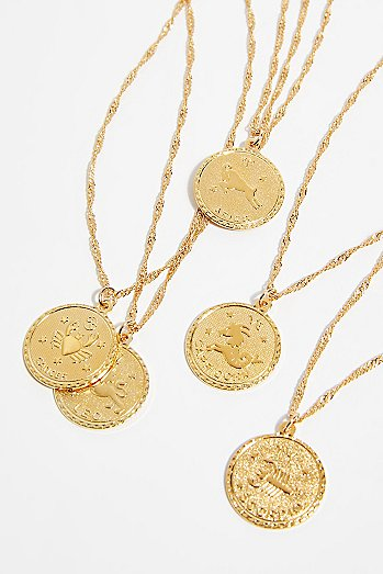 Ascending Medallion Necklace