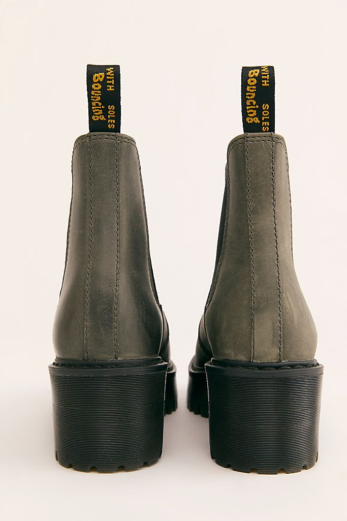 ROMETTY LEATHER CHELSEA BOOTS | Dr