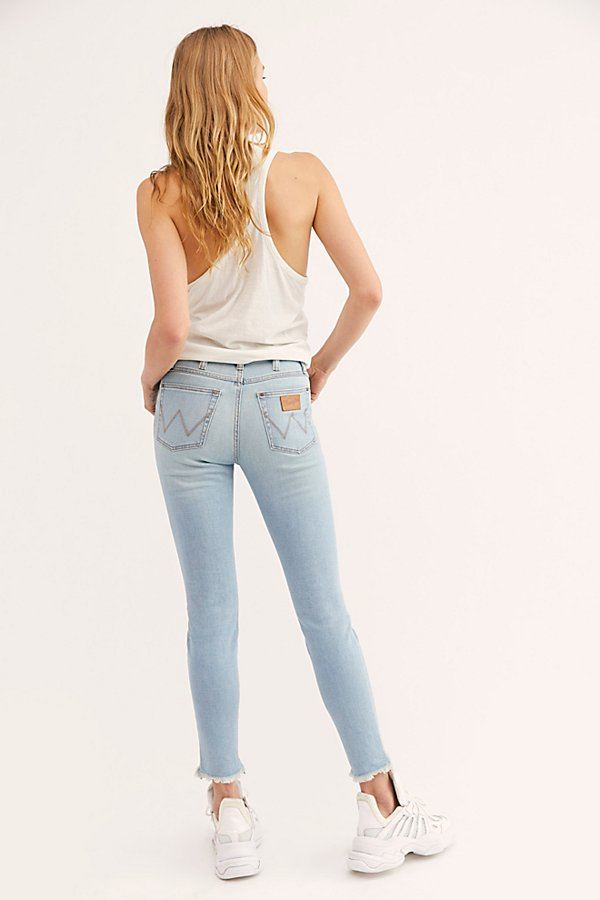 Slide View 2: Wrangler High-Rise Skinny Jeans