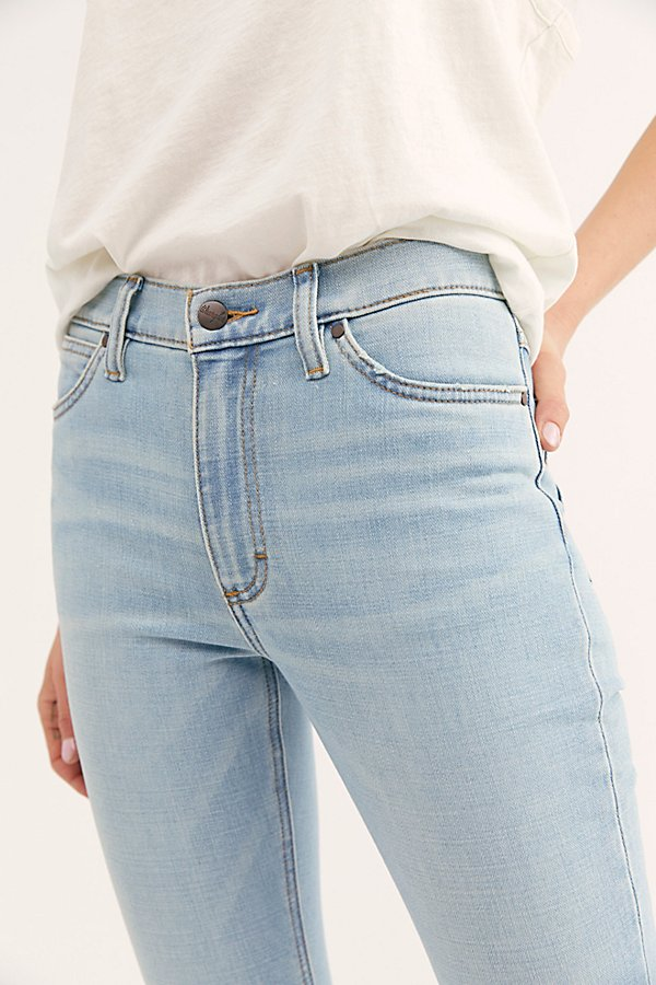 Slide View 3: Wrangler High-Rise Skinny Jeans