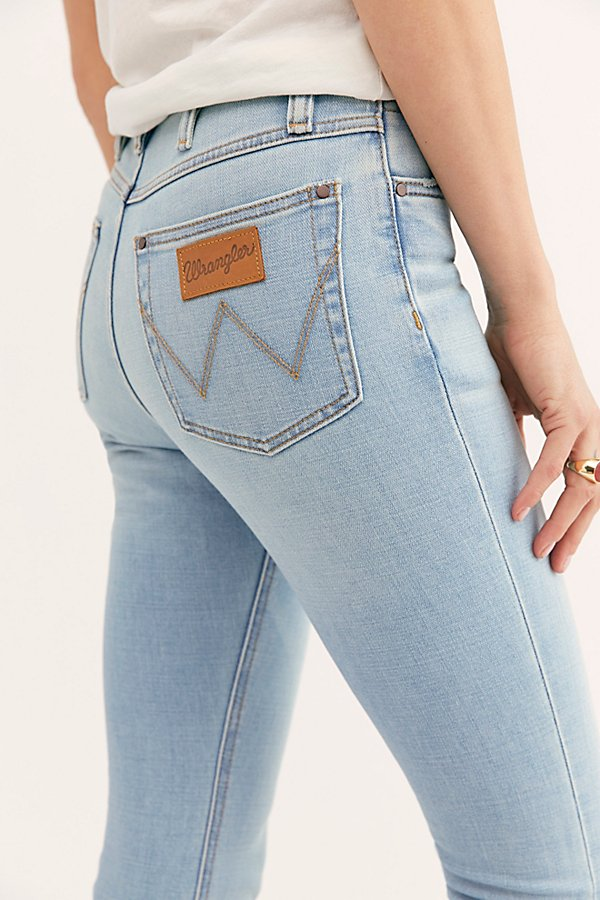 Slide View 4: Wrangler High-Rise Skinny Jeans
