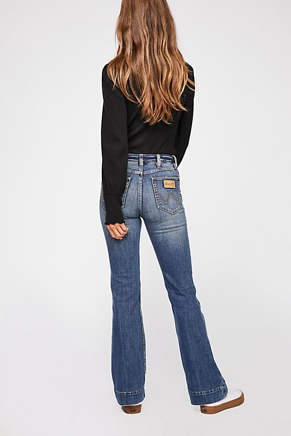 Slide View 4: Wrangler Exaggerated Bootcut Jeans
