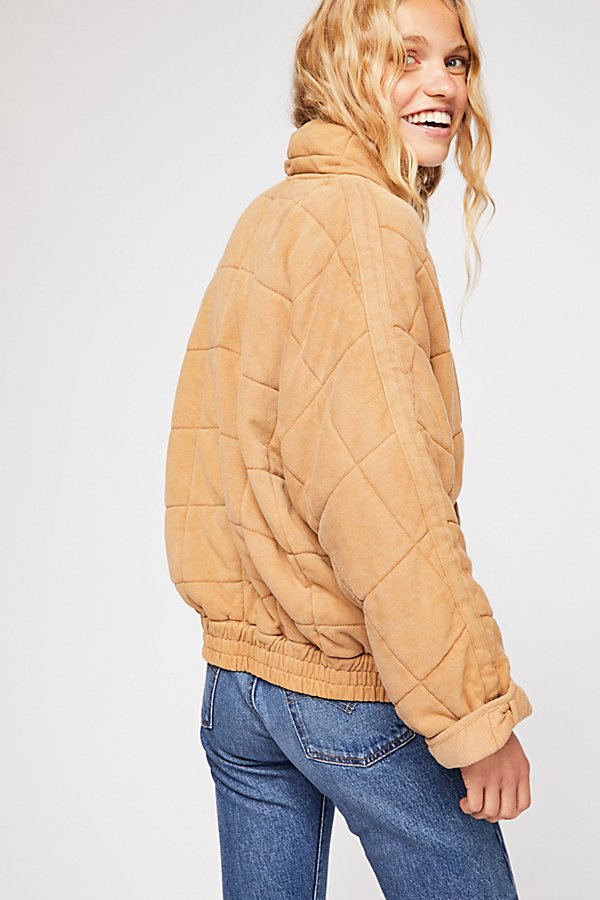 Slide View 5: Dolman Quilted Knit Jacket