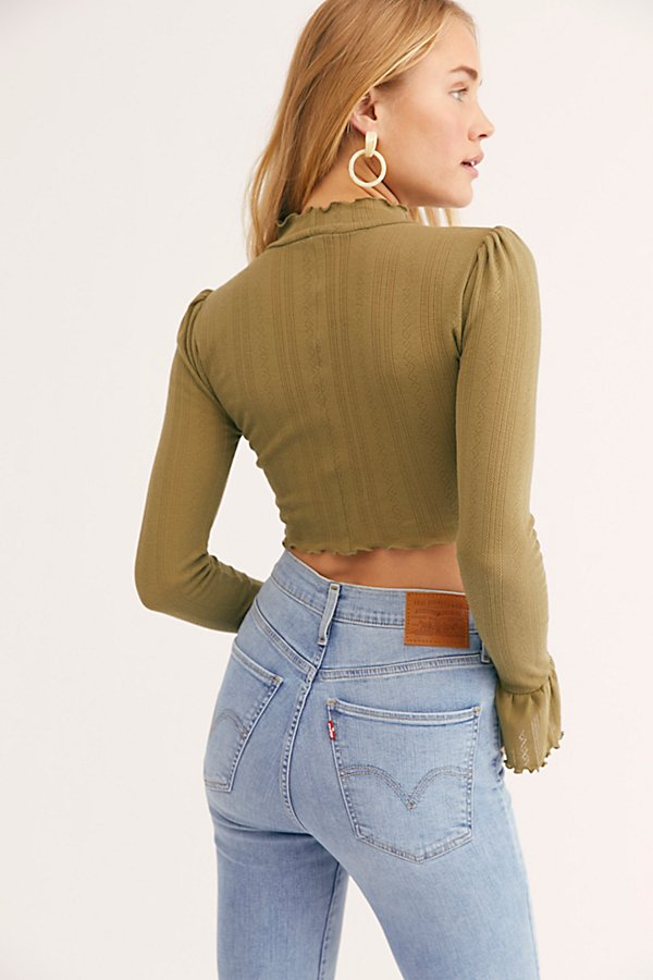 Slide View 2: Once More Crop Long Sleeve Top