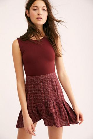 ad49b7bb238dd Nadia Wrap Mini Skirt