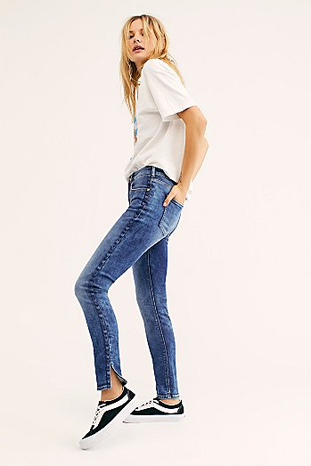 Scotch & Soda La Bohemienne Chevron Jeans