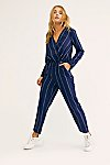 Thumbnail View 2: All In 1 Stripe Jumpsuit