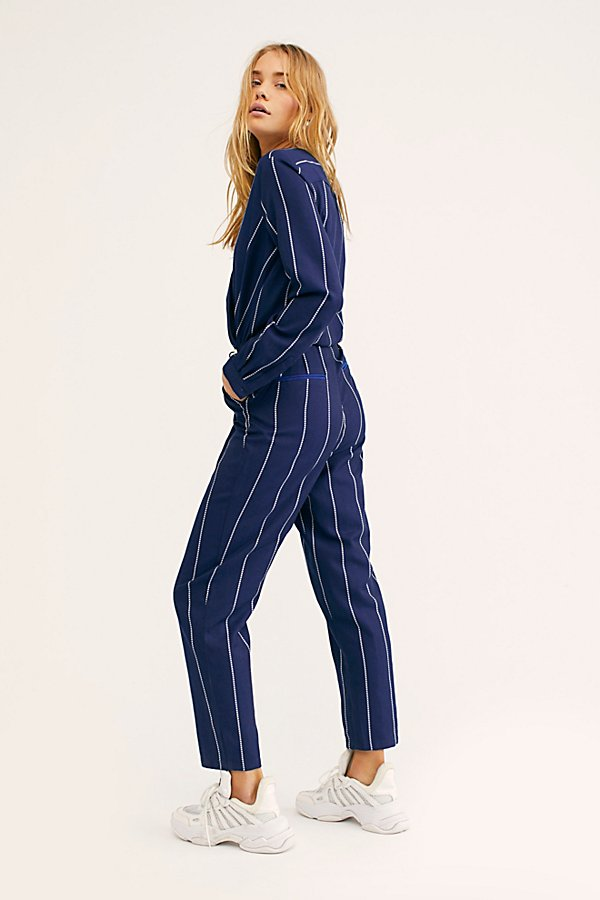 Slide View 3: All In 1 Stripe Jumpsuit