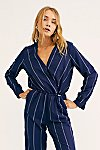 Thumbnail View 4: All In 1 Stripe Jumpsuit