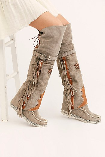 Drifter Tall Mocc Boot