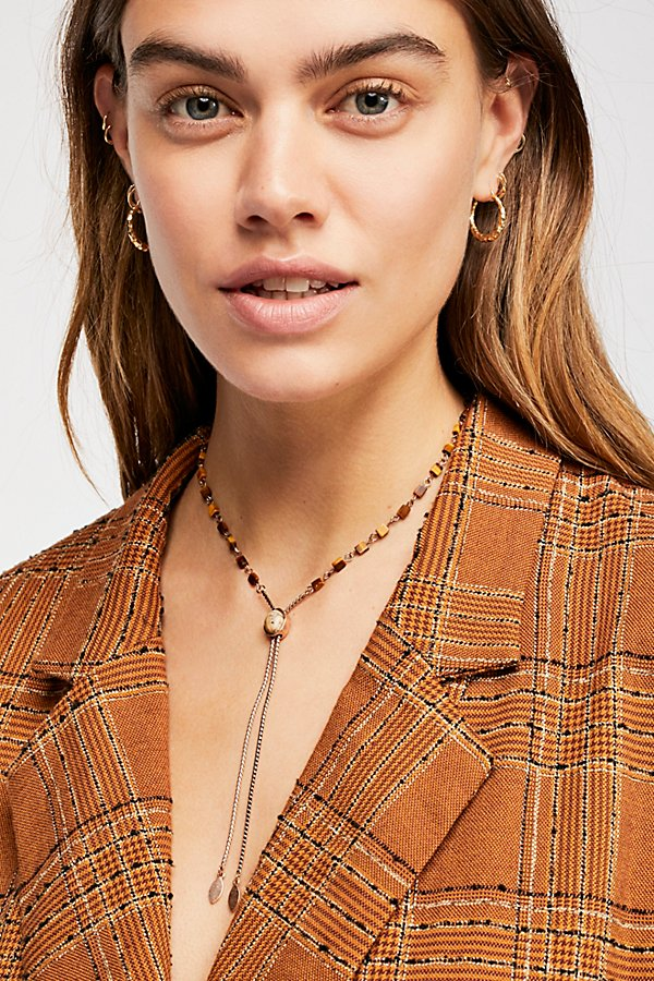 Slide View 2: Sadie Stone Bolo Necklace
