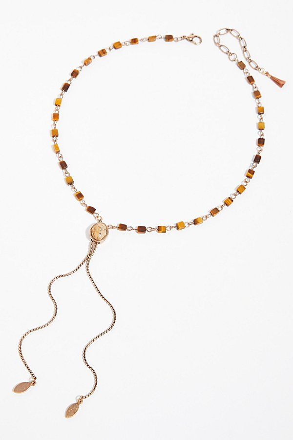 Slide View 3: Sadie Stone Bolo Necklace