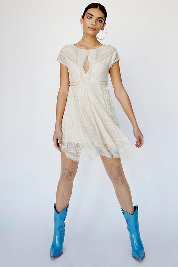 f3bd41807d49 Slide View 1: Victoria Embellished Mini Dress
