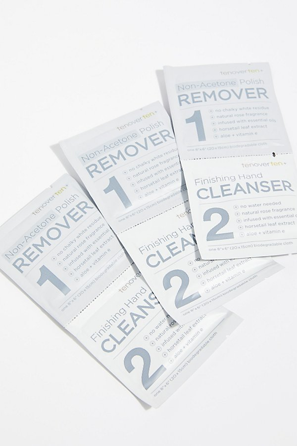 Slide View 1: Tenoverten Nail Polish Remover Cloths