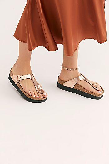 caf5097a9b3f Birkenstock Fringe Sandals   Leather Sandals