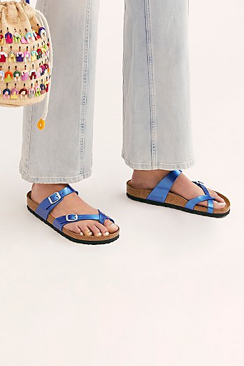 Mayari Electric Metallic Birkenstock Sandal