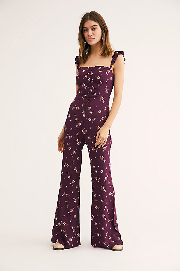 Slide View 2: Bardot Floral Jumpsuit