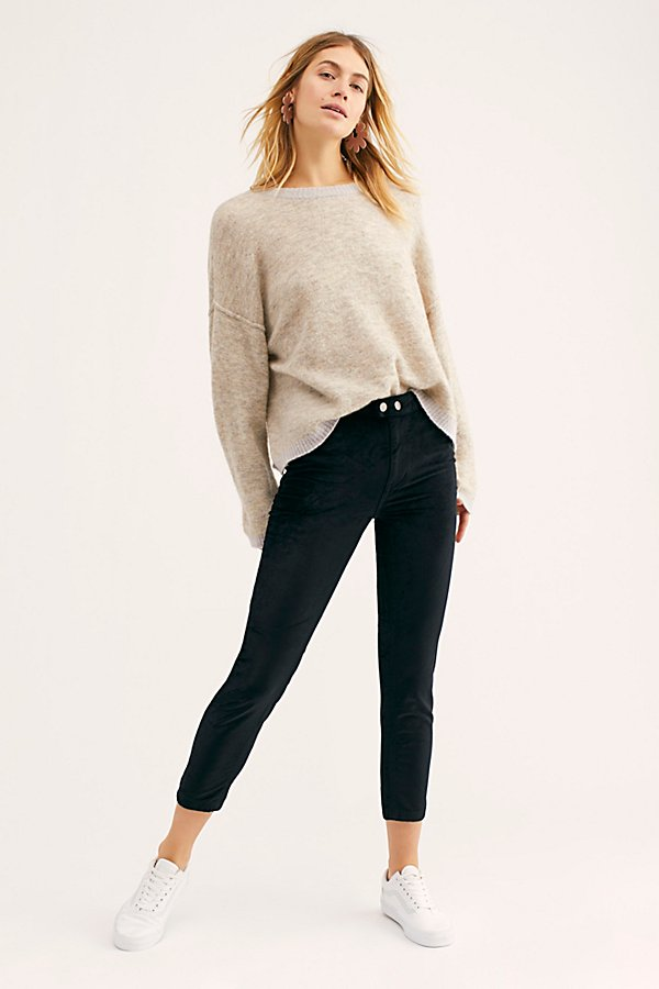 Slide View 1: Sweet Jane Velvet Skinny Jeans