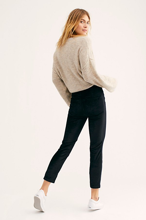 Slide View 2: Sweet Jane Velvet Skinny Jeans