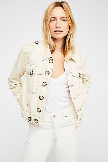 Eisenhower Slouchy Denim Jacket