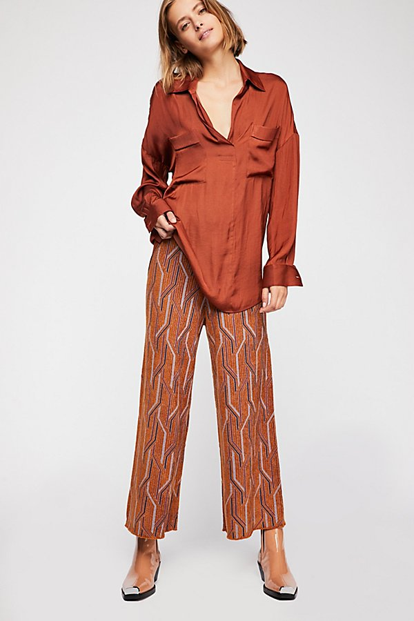 Slide View 2: Alina A-Line Pull-On Wide-Leg Pants