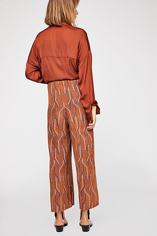 Slide View 3: Alina A-Line Pull-On Wide-Leg Pants