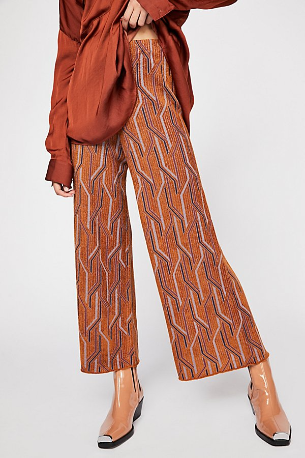 Slide View 4: Alina A-Line Pull-On Wide-Leg Pants