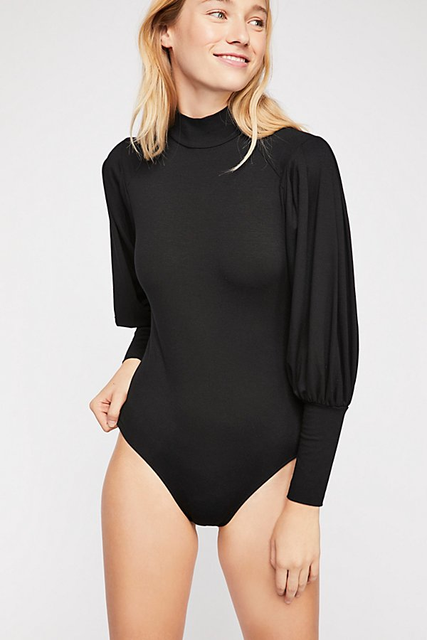 Slide View 2: So Fine Pleat Sleeve Bodysuit