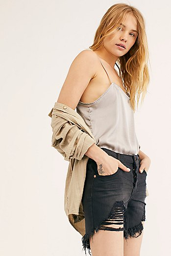 OneTeaspoon Stevie's Boyfriend Shorts