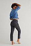 Thumbnail View 2: CRVY High-Rise Vintage Straight Jeans