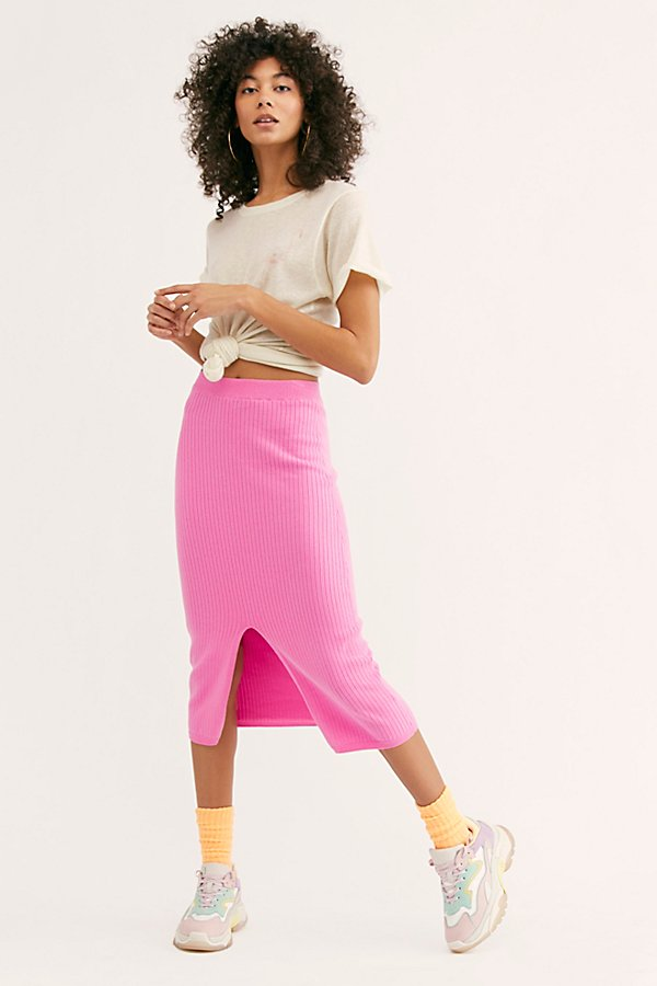 Slide View 2: Skyline Midi Skirt