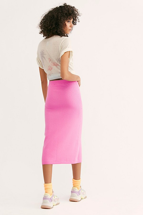 Slide View 3: Skyline Midi Skirt