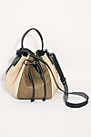 Thumbnail View 3: Delle Cose Lilia Colorblocked Drawstring Bucket Bag