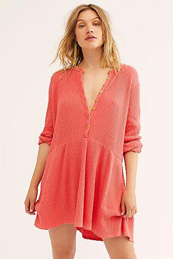 b5efb66f4fc Blossom Button-Up T-Shirt Dress