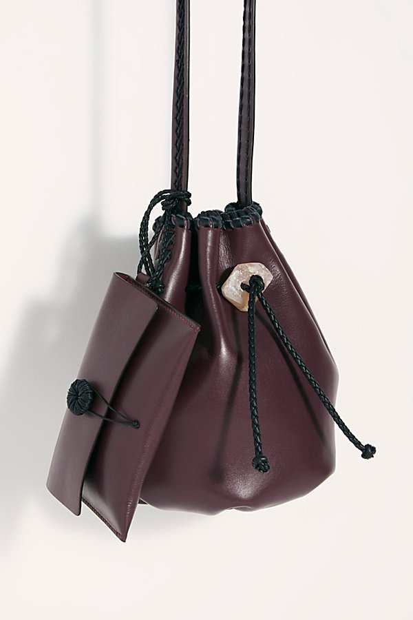 Slide View 2: Iacobella Nirmala Drawstring Bucket Bag
