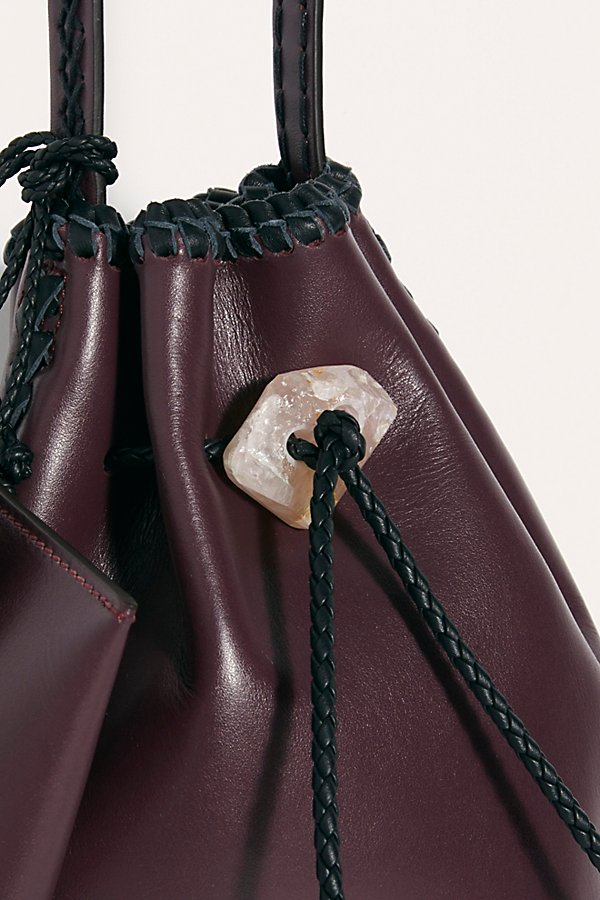 Slide View 3: Iacobella Nirmala Drawstring Bucket Bag