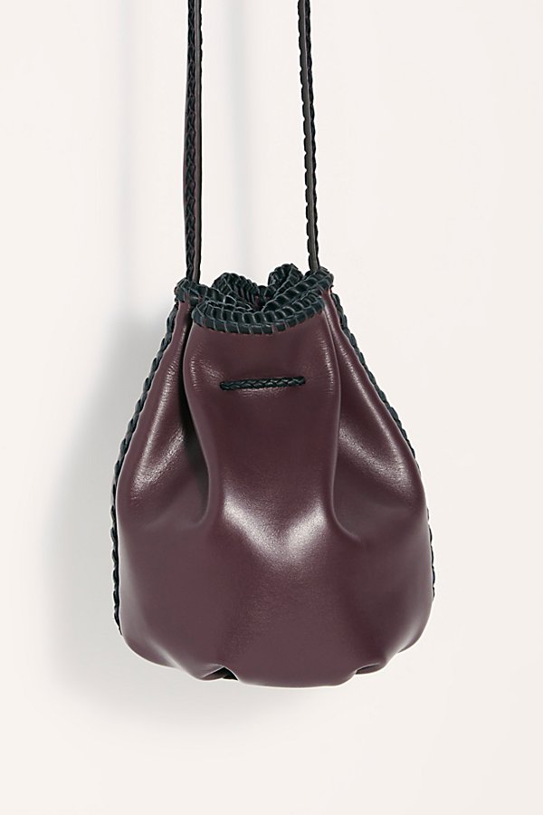 Slide View 4: Iacobella Nirmala Drawstring Bucket Bag